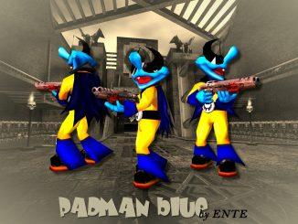 Padman blue (Q3A) by ENTE