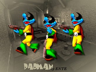 Padman (Q3A) by ENTE