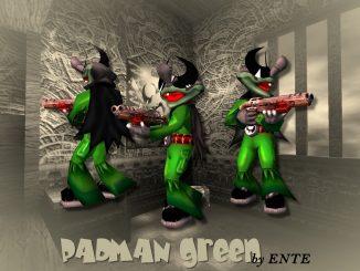 Padman green (Q3A) by ENTE