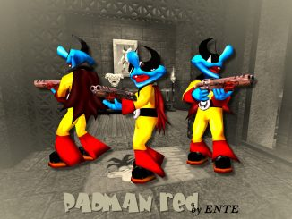 Padman red (Q3A) by ENTE