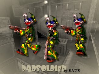 PadSoldier (Q3A) by ENTE