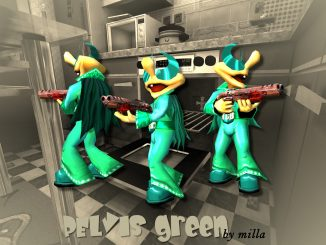 PElvis green (Q3A) by milla