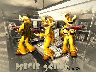 PElvis yellow (Q3A) by milla