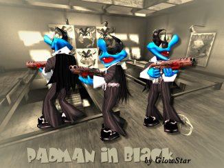 Padman in Black (Q3A) by GlowStar