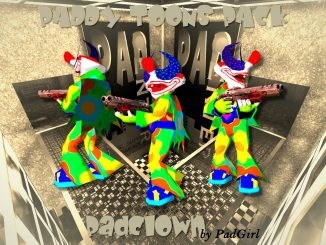 PadClown (Q3A) by PadGirl