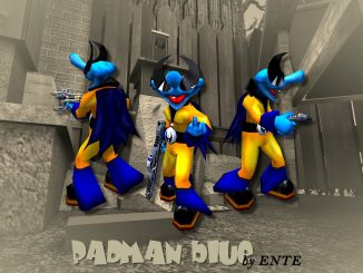 Padman blue (EF) by ENTE