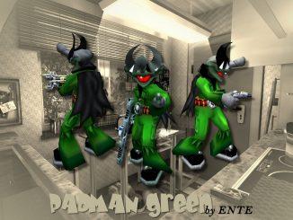 Padman green (EF) by ENTE