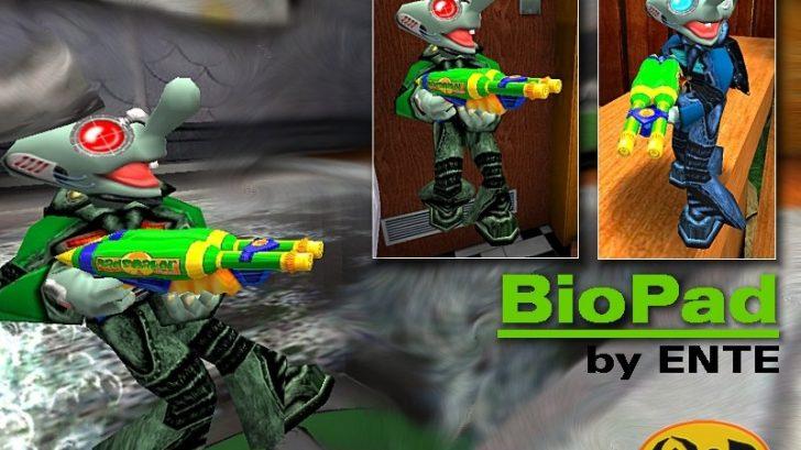 BioPad skin by ENTE