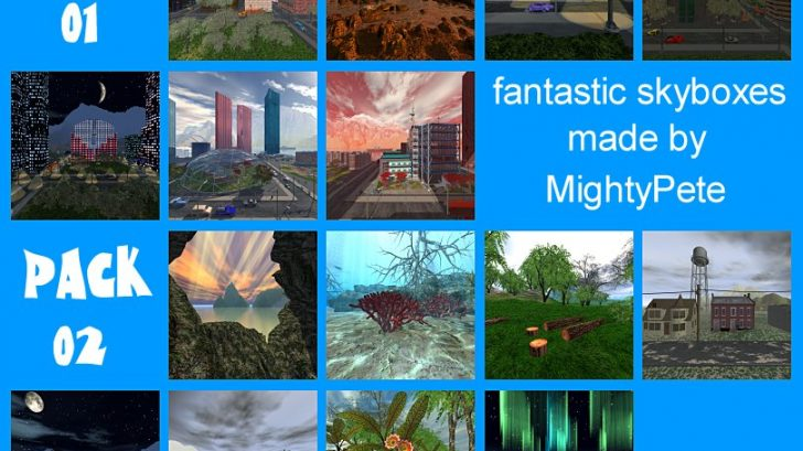 Skyboxes by MightyPete