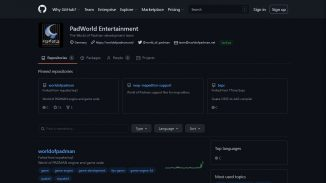 PadWorld Entertainment on GitHub