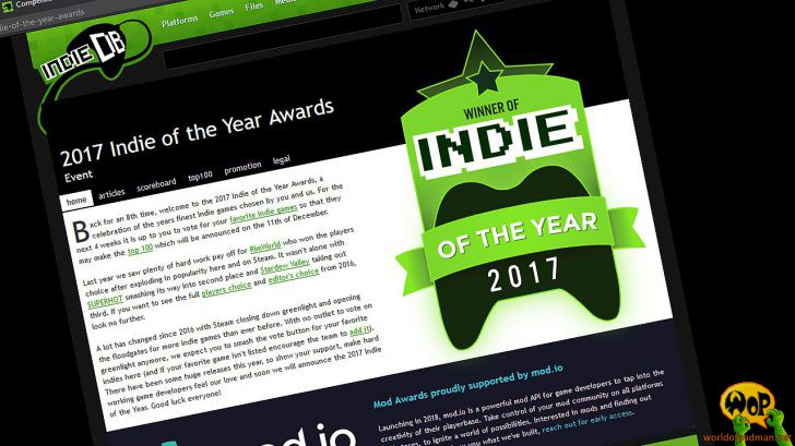 Indie of the Year Awards 2017