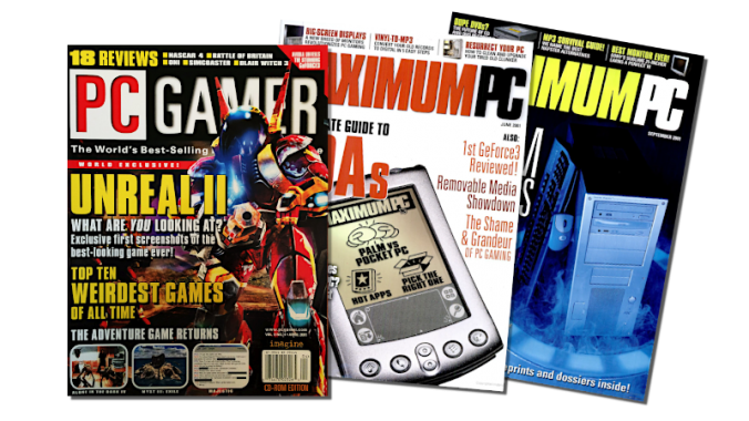 ENTEs PadShop präsentiert in PC Gamer und Maximum PC