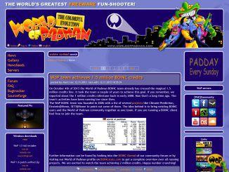 WoP alte Webseite 2013