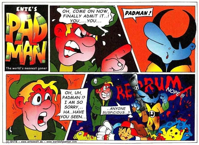Padman Comic 04/2000 (EN)