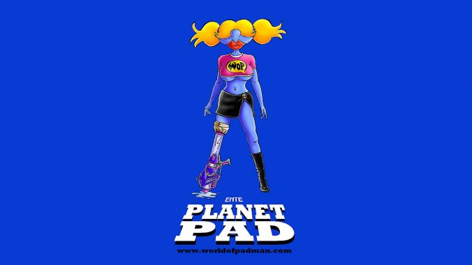 Planet PAD wallpaper by ENTE