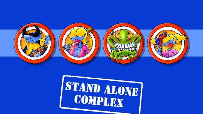 WoP Stand Alone Complex Wallpaper by ENTE
