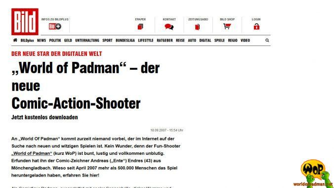 BILD.de (DE) | 18/09/2007