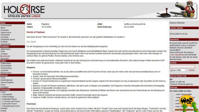 holarse.de (DE) | 18/12/2004