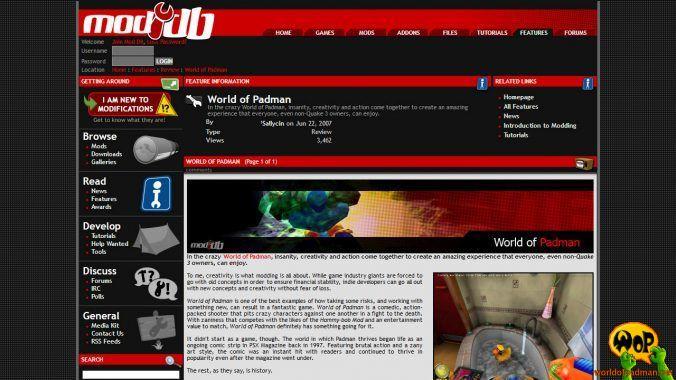 ModDB.com (AU) | 22/06/2007