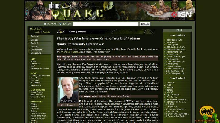 PlanetQuake.com (US) | 21/01/2012