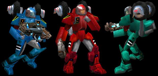 Rand Robotech-Charakter für Quake 3 Arena von Tone