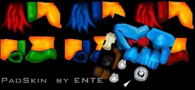PADMAN-Skins von ENTE