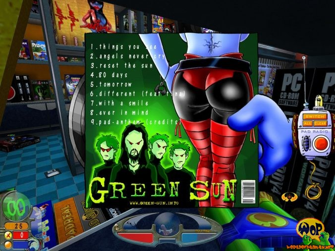 View on the music pack cover in-game